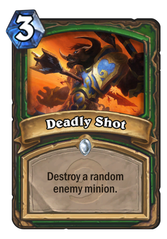 Deadly Shot Hearthstone Card
