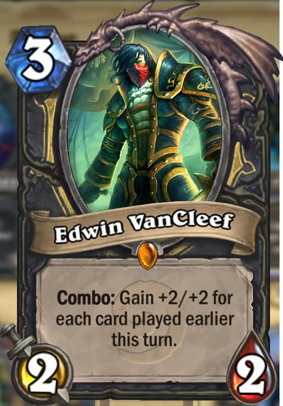 Edwin Vancleef Hearthstone Card