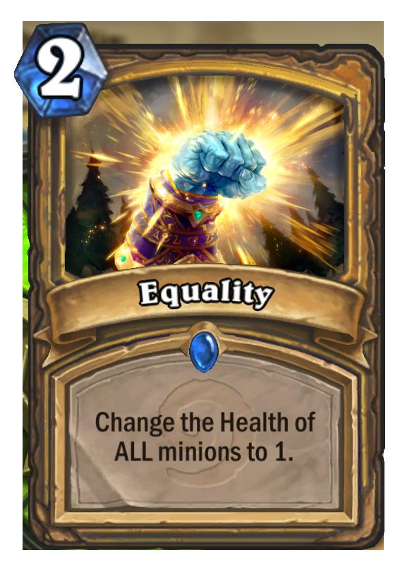 Equality Hearthstone Card
