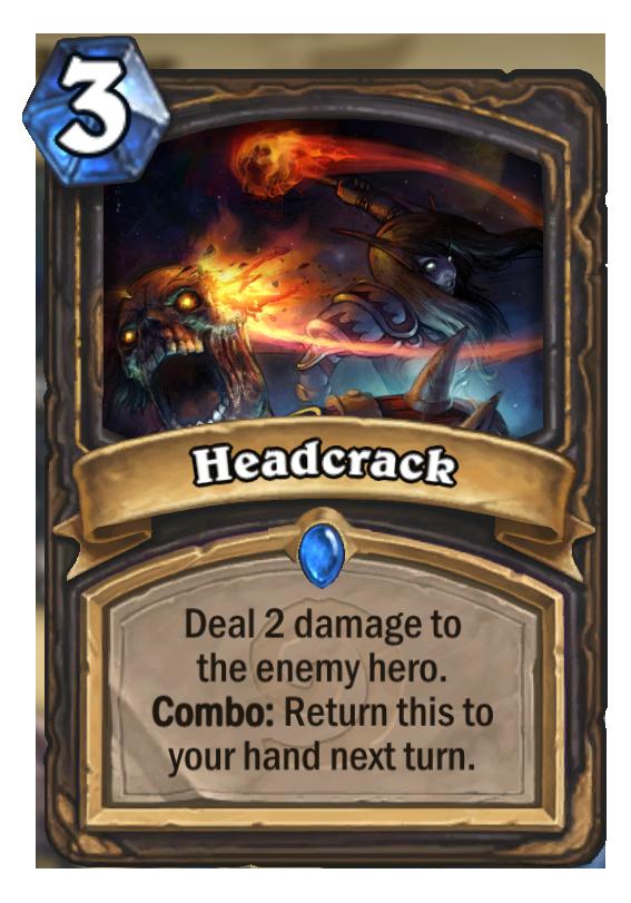 Headcrack Hearthstone Card