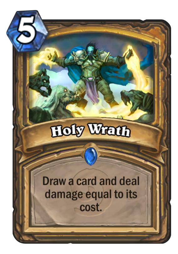 Holy Wrath Hearthstone Card
