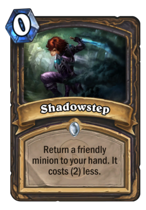 Shadowstep Card