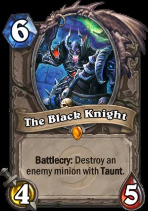 The Black Knight Card