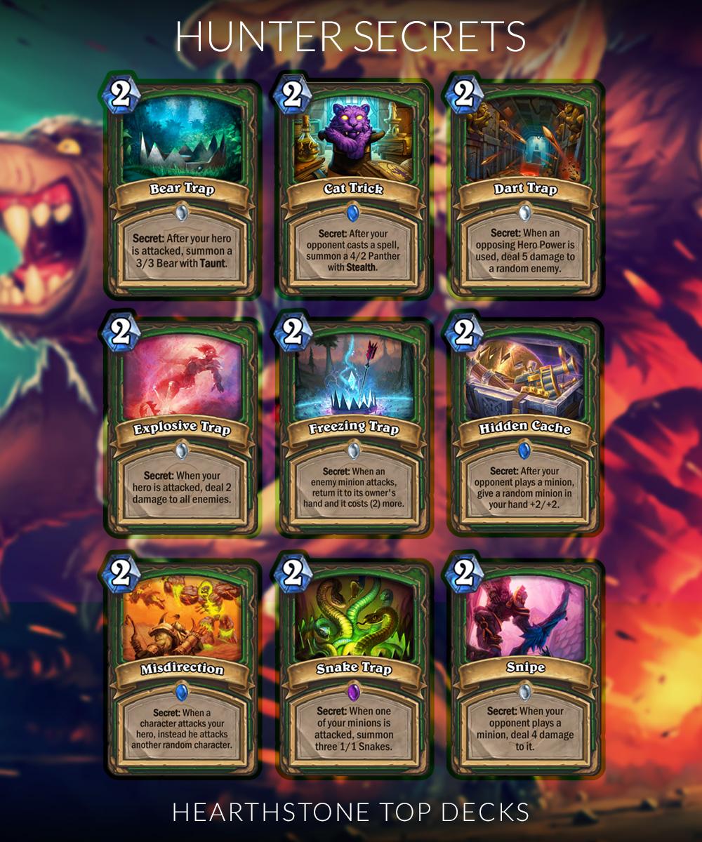 Hearthstone secret cards