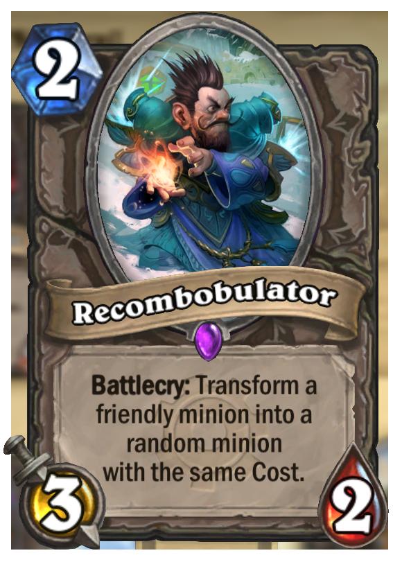 Recombobulator Hearthstone Card