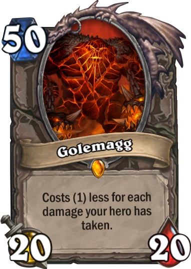 Golemagg Hearthstone Card