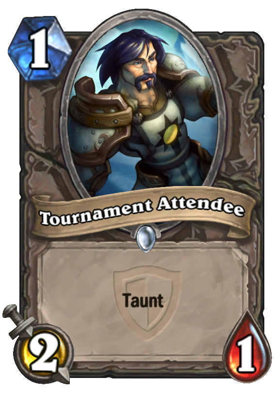 Tournament Attendee Hearthstone Card