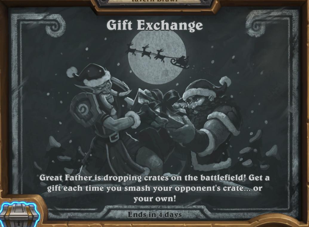 Tavern Brawl Gift Exchange - Hearthstone Top Decks