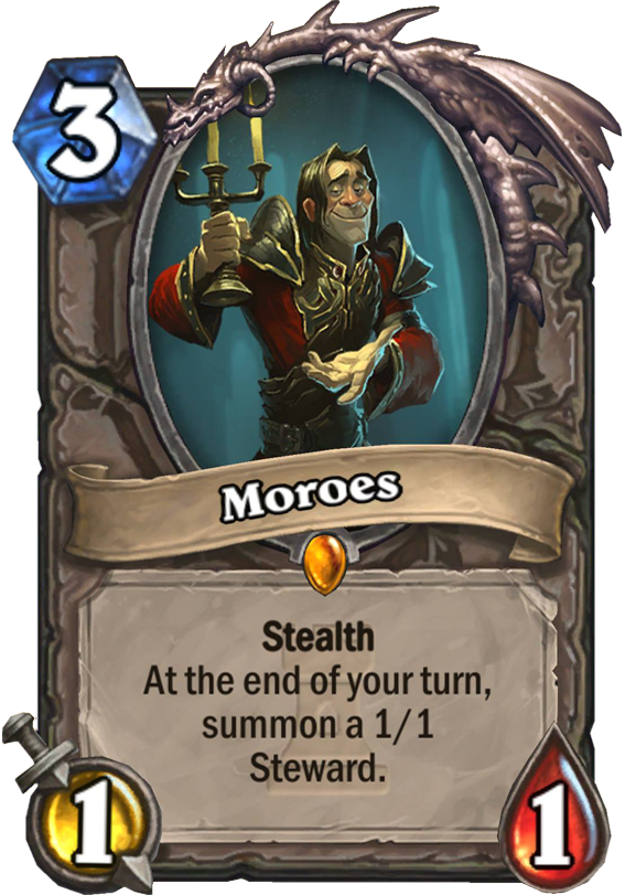 Moroes Hearthstone Card