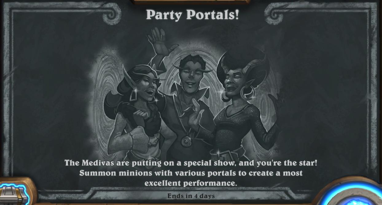 [CCG] Hearthstone Tb-partyportals