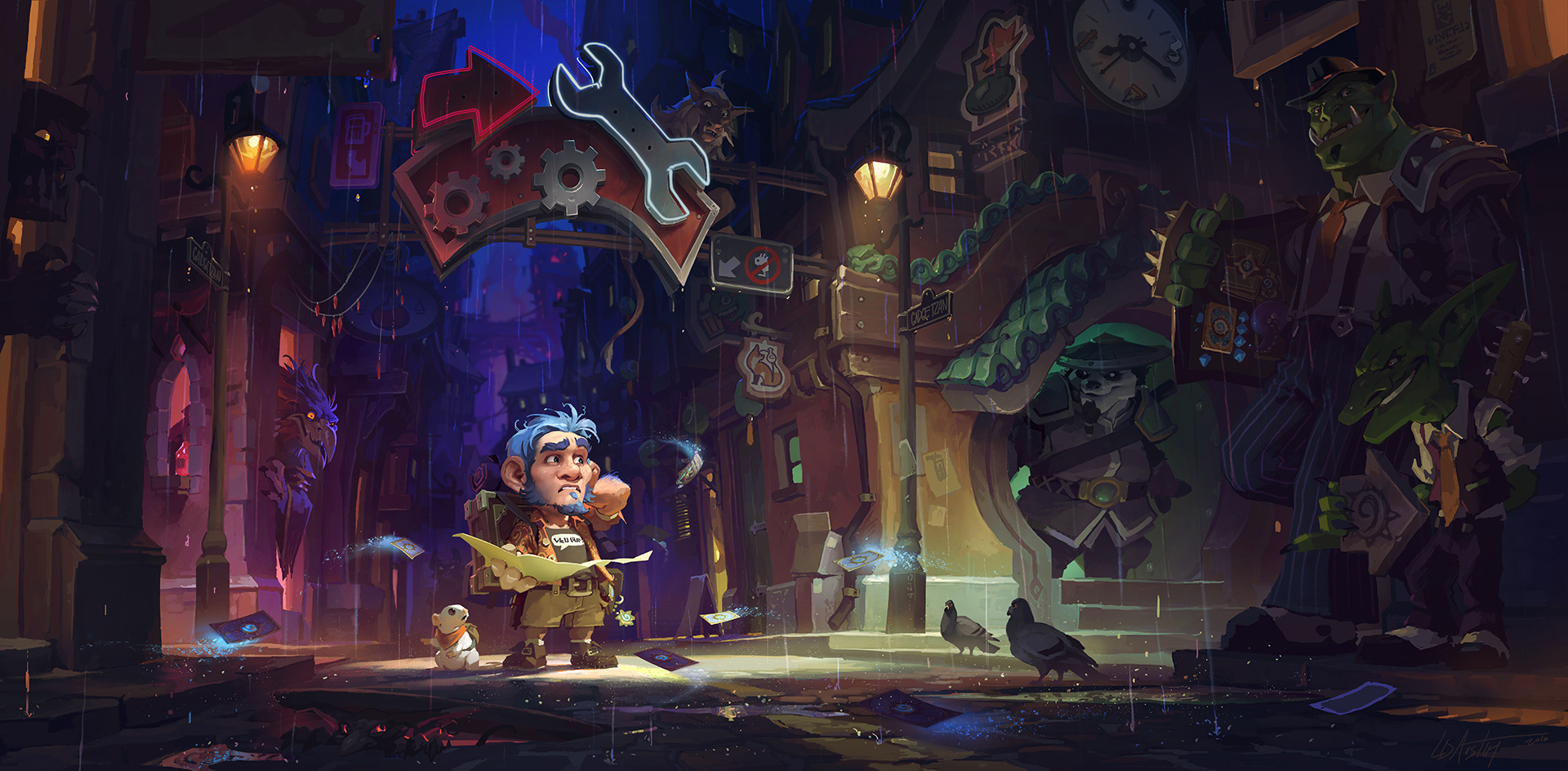 Mean Streets Of Gadgetzan Hearthstone Expansion