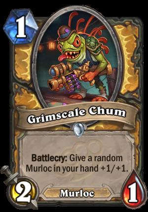 Grimscale Chum Card