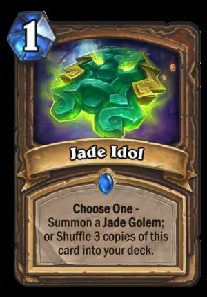 Jade Idol Card