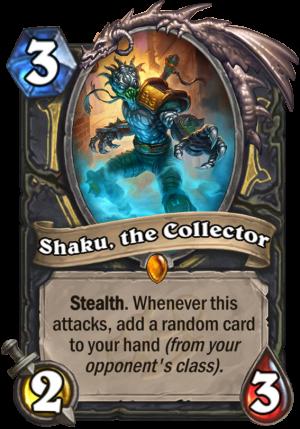 Shaku, the Collector Card