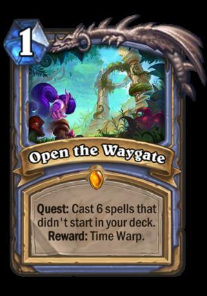 Open the Waygate Card