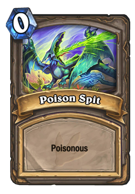 Poison Spit Hearthstone Card