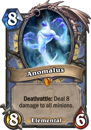 Anomalus Hearthstone Card