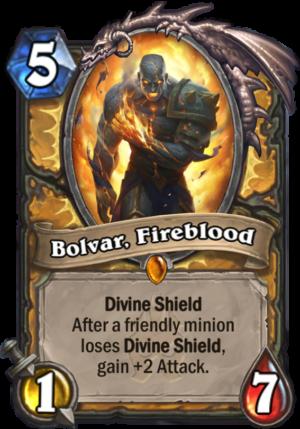 Bolvar, Fireblood Card