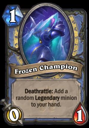 Frozen Champion Card