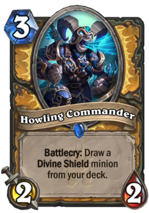 Howling Commander Card
