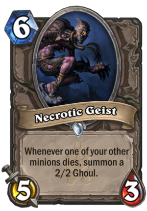 Necrotic Geist Card