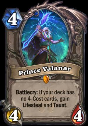 Prince Valanar Card