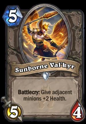 Sunborne Val'kyr Card