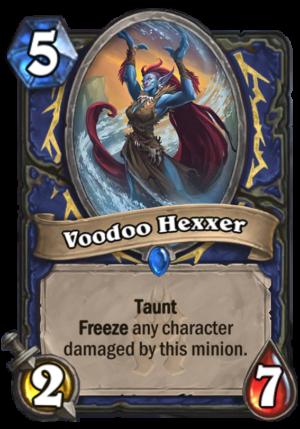 Voodoo Hexxer Card