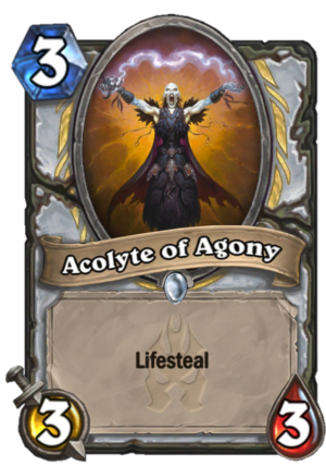 Acolyte of Agony Card