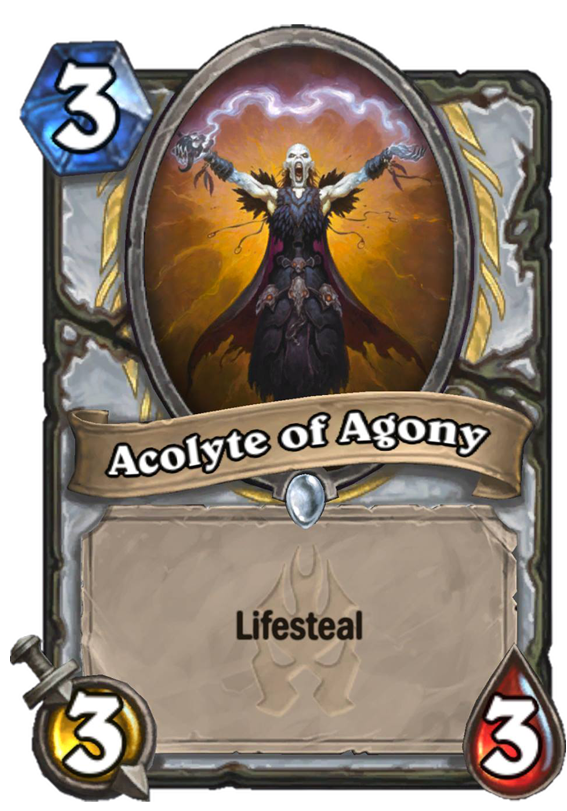 Acolyte Of Agony Hearthstone Card