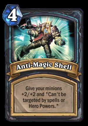 Anti-Magic Shell Card