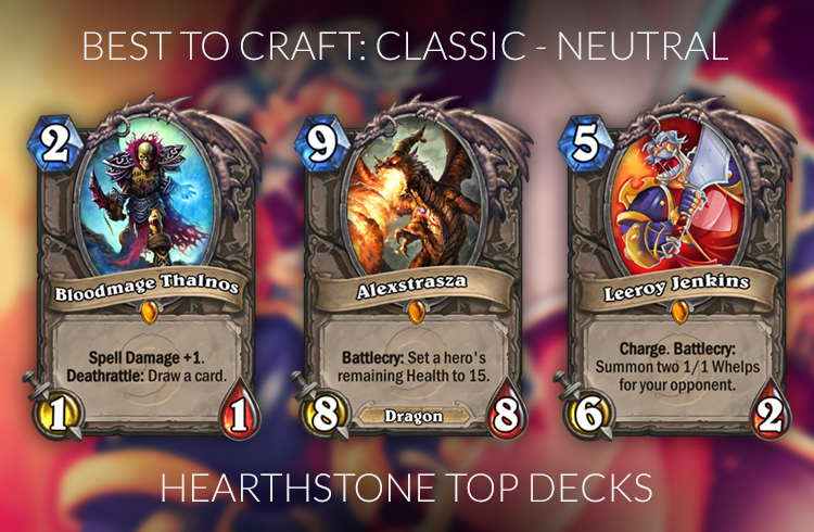 Hearthstone Best Legendary To Craft  Mage