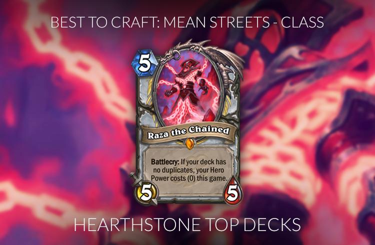 Hearthstone Legendary Crafting Guide Frozen Throne
