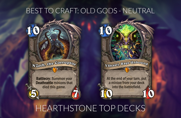 Hearthstone Legendary Crafting Guide Frozen Throne