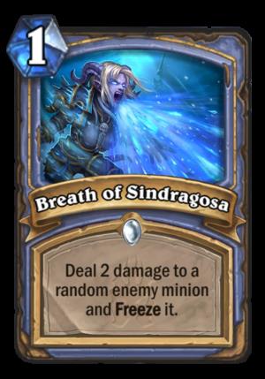 Breath of Sindragosa Card