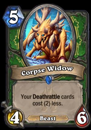 Corpse Widow Card