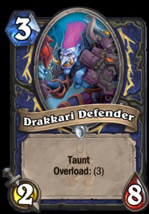 Drakkari Defender Card
