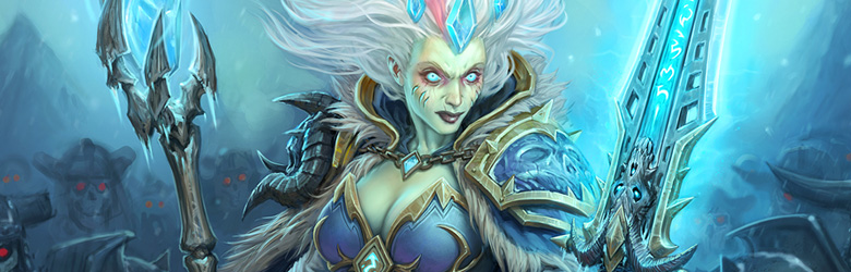 Weghuz S Frozen Throne Frost Lich Jaina Control Mage