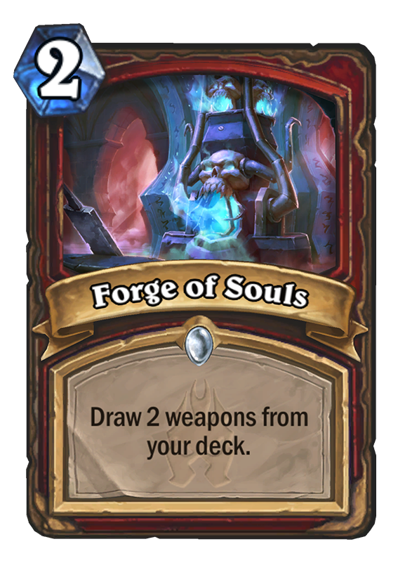 Forge Of Souls Hearthstone Card