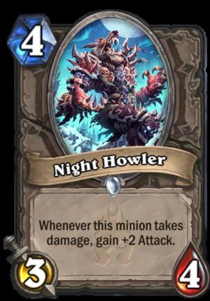 Night Howler Card