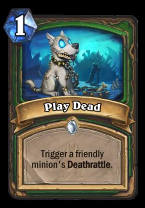 Play Dead Card