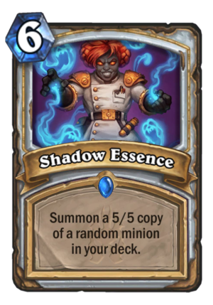 Shadow Essence Card