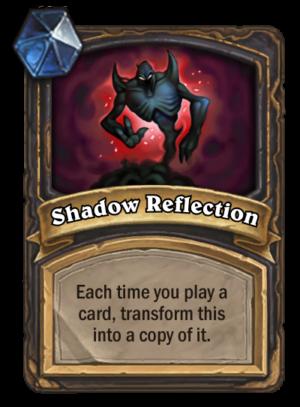 Shadow Reflection Card