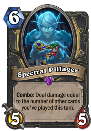 Spectral Pillager Card