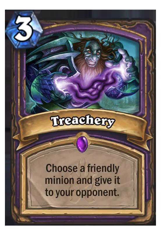 Treachery Hearthstone Card