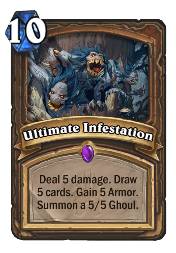 Ultimate Infestation Hearthstone Card