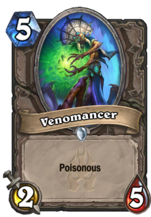 Venomancer Card