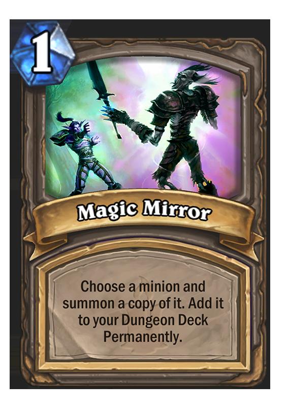 magic mirror deck