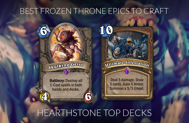 Knights Of The Frozen Throne Cards To Craft