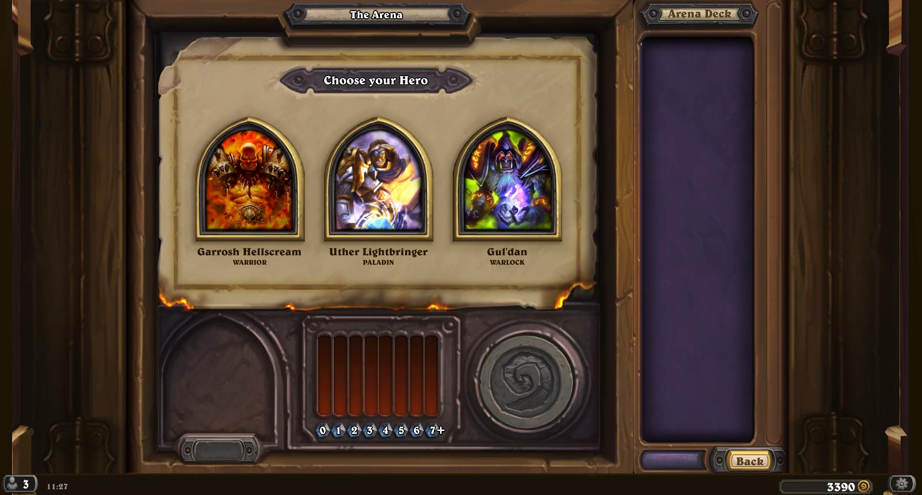Hearthstone - How does matchmaking in the Arena work - Arqade